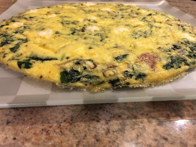 Bacon frittata