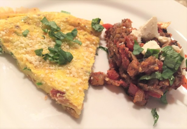 omelet with eggplant (2)