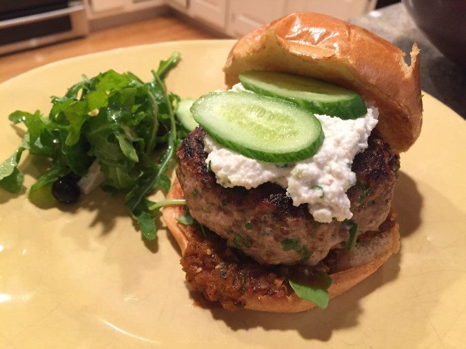 Turkey Burger with Chipotle Salsa