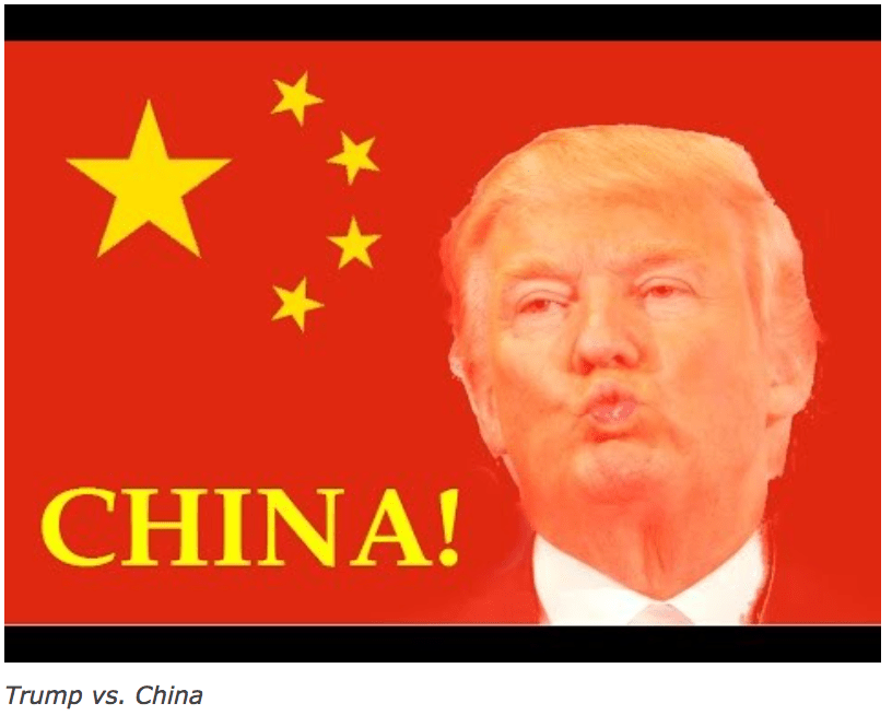 Trump Baits China – Again