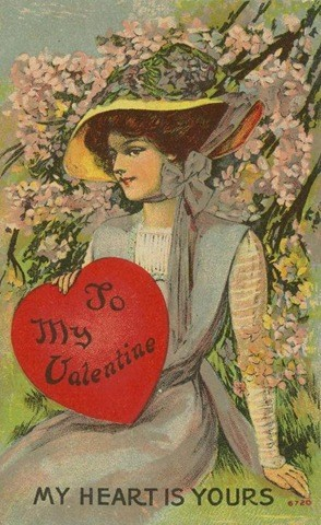 Beautiful Vintage Valentine Cards What Will Matter