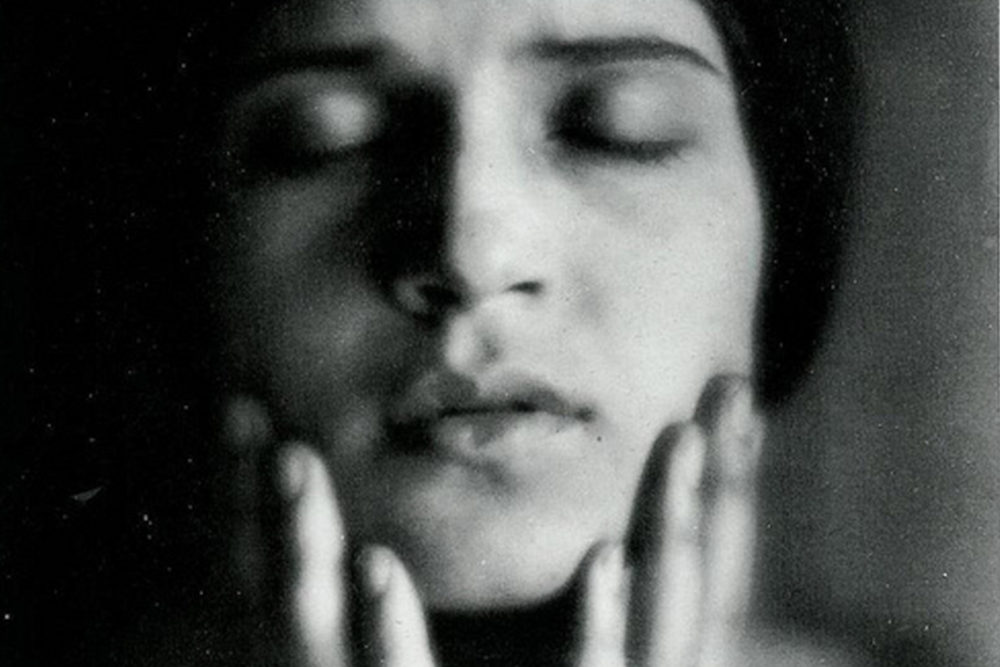 Photograph of Tina Modotti by Edward Weston, date unknown.