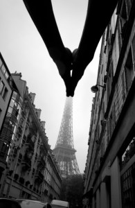 """Je t'aime Paris, 2013"" by Arno Rafael Minkkinen (courtesy of the artist and Robert Klein Gallery, Boston)"