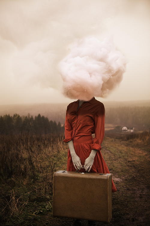 """Head in the Clouds, Antigonish, Nova Scotia, 2013"", archival pigment print by Alicia Savage (courtesy of the artist)"