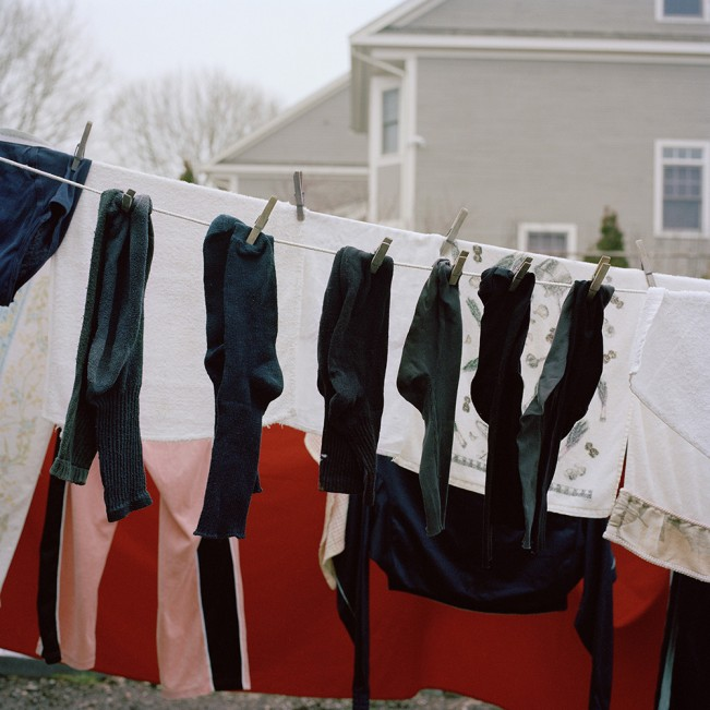 """Untitled (Clothesline), 2012"", digital inkjet print by Alberto D'agostino (The New England Institute of Art)"
