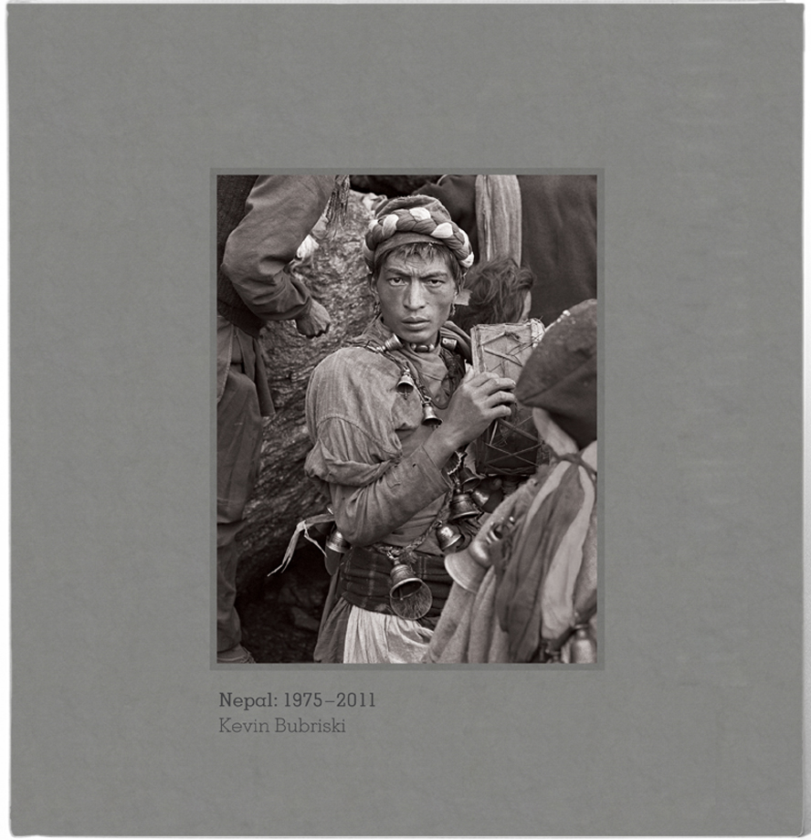 """Cover of the Monograph """"Nepal 1975-2011"""" by Kevin Bubriski"""