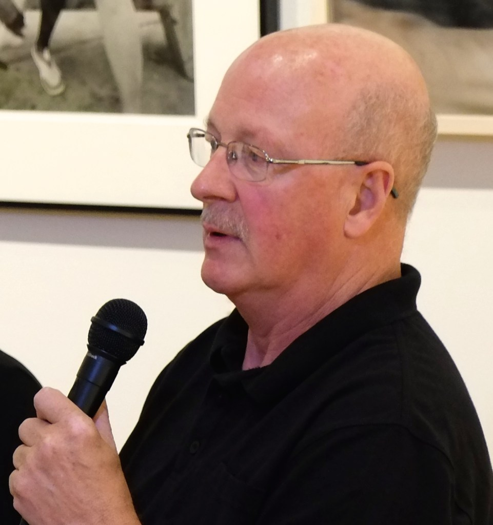 Neal Rantoul expounds on the pros and cons of gallery representation (photo by Elin Spring)