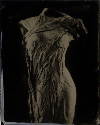 """Figure #11, 2011"" ambrotype from the Venus Series by Lindsey Beal (courtesy of the artist and StoneCrop Gallery, Oguquit ME)"