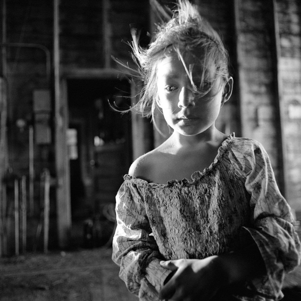 """""""Emily at 5"""" archival pigment print by Emily Schiffer (courtesy of the artist and Nesto Gallery)"""