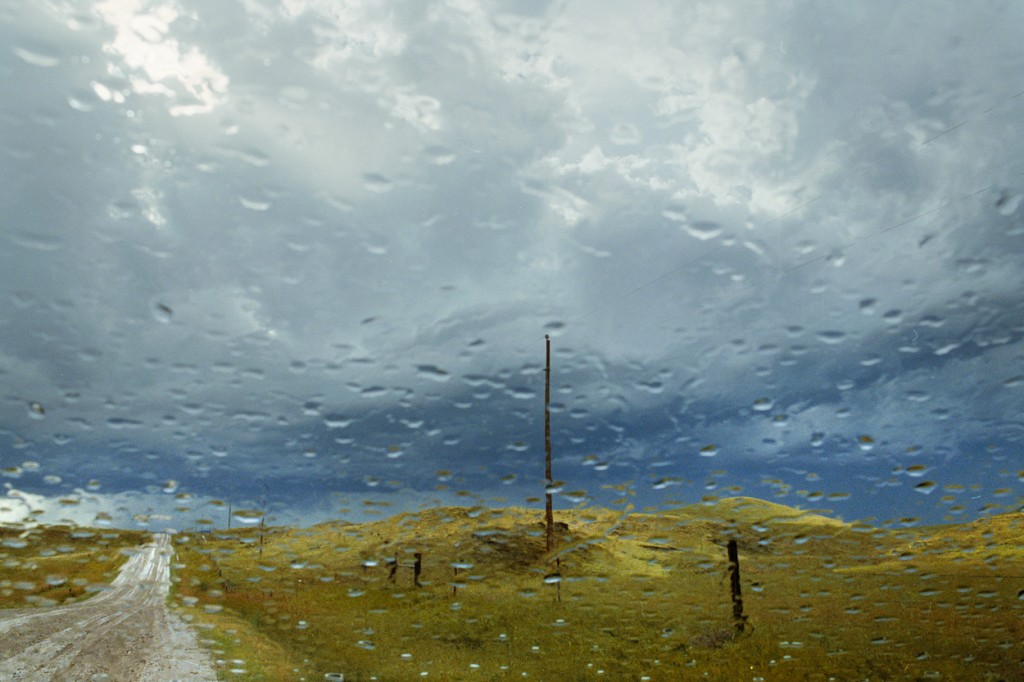 """""""Storm Light (from the series My Dakota), 2012"""" by Rebecca Norris Webb, featured in the current exhibit Slant Rhymes, with Alex Webb at Ars Libri through October 31, 2014. (courtesy of the artist and Robert Klein Gallery, Boston)"""