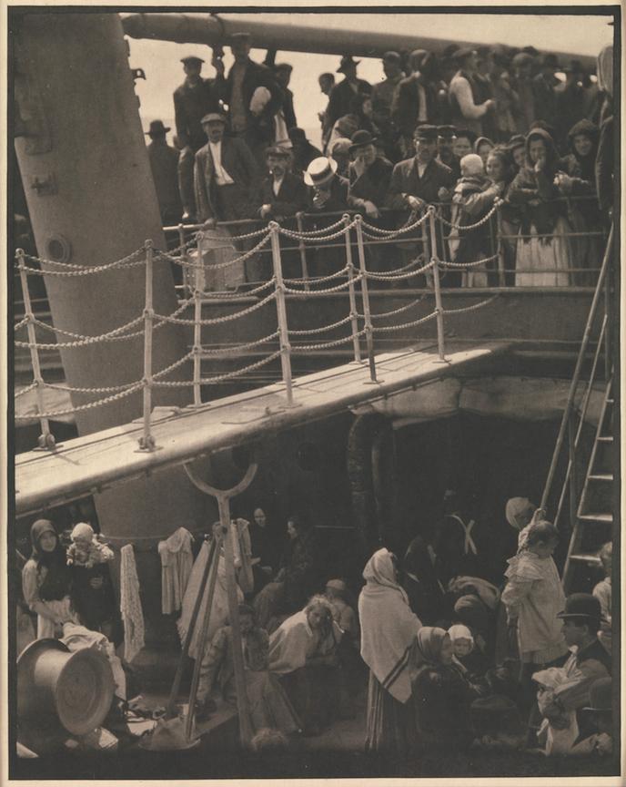 """""""The Steerage, 1907"""" by Alfred Stieglitz (courtesy of Robert Klein Gallery, Boston)"""