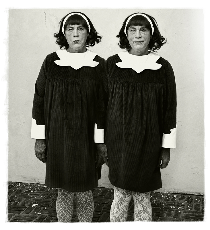 """Diane Arbus' Identical Twins, Roselle, New Jersey, 1967 (2014)"" by Sandro Miller (courtesy of the artist and Catherine Edelman Gallery, Chicago)"