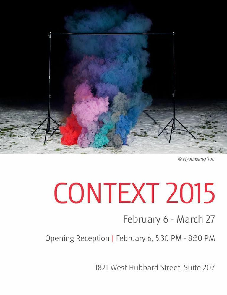 """Announcement for """"Context 2015"""", the inaugural exhibit at Filter Space, the new gallery for Filter Photo."""
