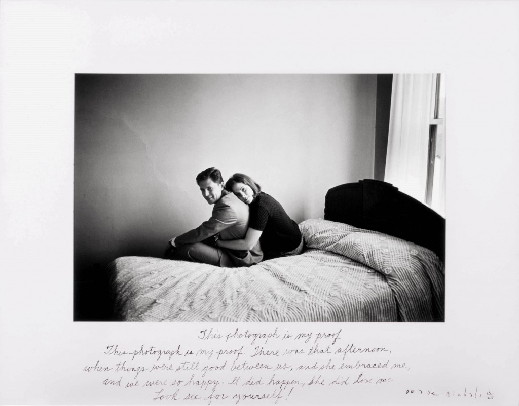 """""""This Photograph Is My Proof, 1967"""" by Duane Michals (courtesy of the artist and Carnegie Museum of Art, Pittsburgh)"""