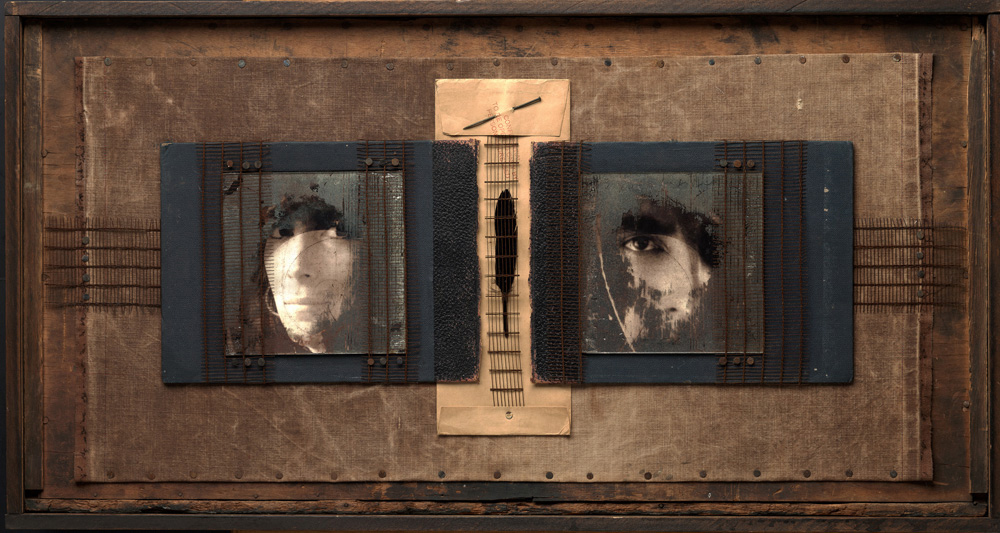 """Dark Mirror, 2010"", kallitype and mixed media by K.K. DePaul (Courtesy of the artist)"