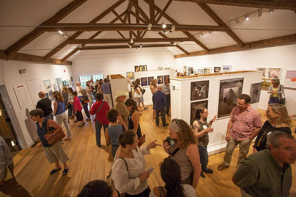 Griffin Museum opening for the 20th Annual Exhibition, juried by Aline Smithson, in June 2014 (photo by Rick Colson)