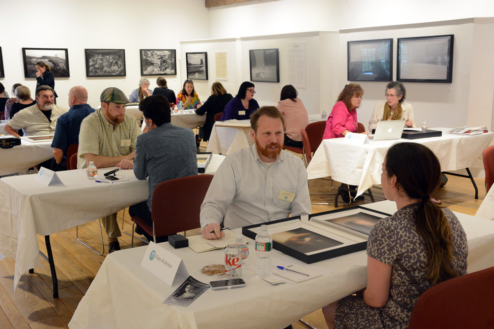 New England Portfolio Reviews held at the Griffin Museum in June 2014 (photo by Silke Hase)