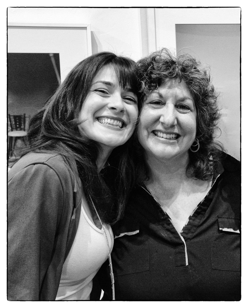 Frances Jakubek, Associate Director, with Paula Tognarelli, Executive Director and Curator of the Griffin Museum of Photography (photo by Silke Hase)
