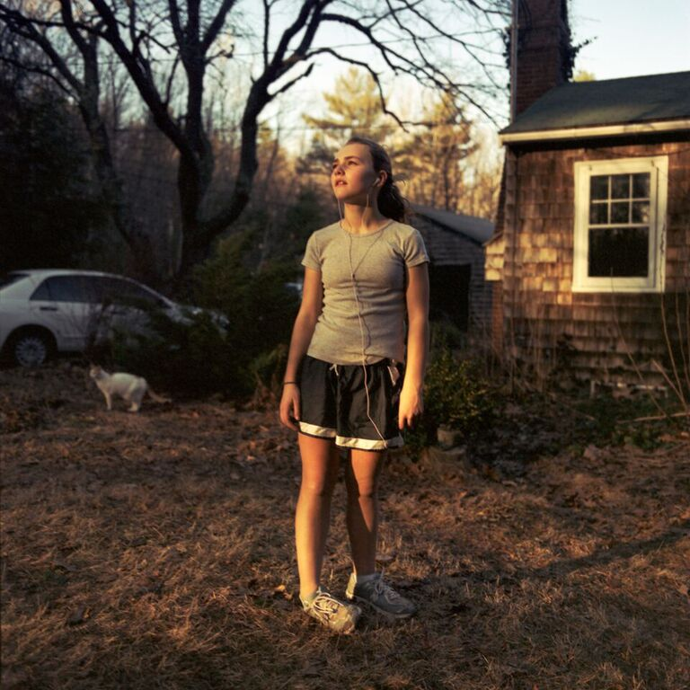 """After a Run, 2008"" by Nancy Grace Horton (courtesy of the artist)"