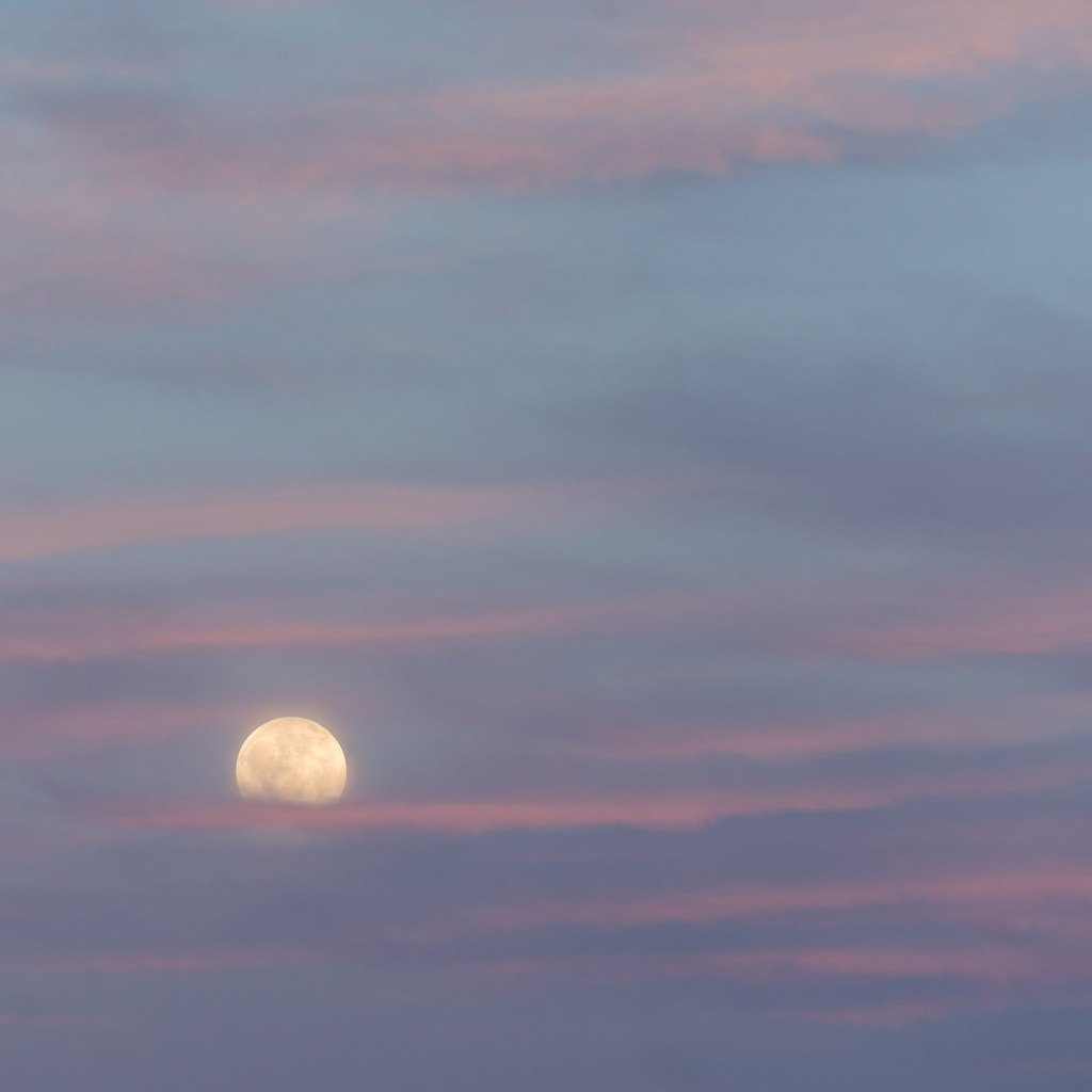 """""""Summer Moon"""" from the series Adventures in Celestial Mechanics by Jim Nickelson (courtesy of the artist and 555 Gallery, South Boston)"""
