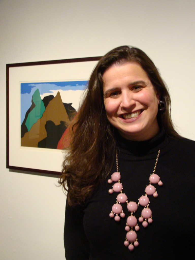 Jessica Roscio, Head Curator of Danforth Art Museum in Framingham, MA (Photo by Gabrielle McKenzie, Danforth Art).