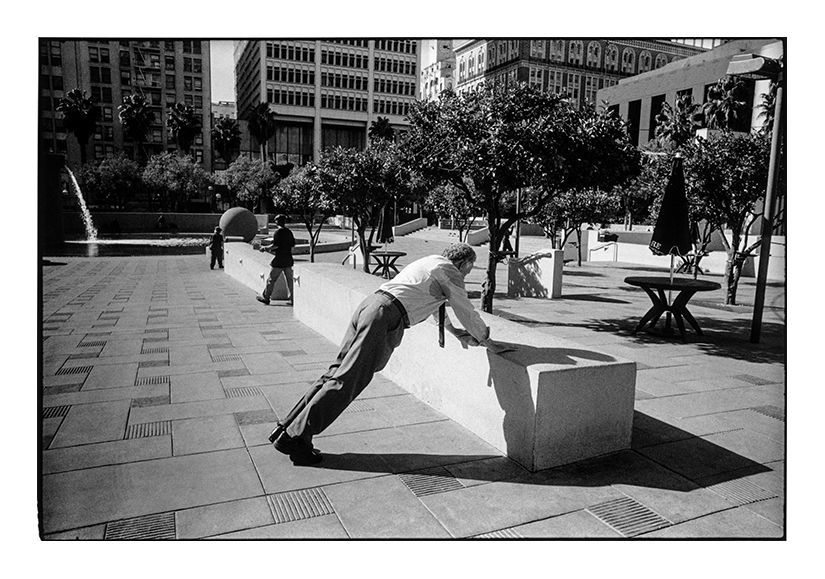 """""""Pershing Square, Downtown Los Angeles, CA, 2014"""" by Michael Hintlian (courtesy of the artist)."""