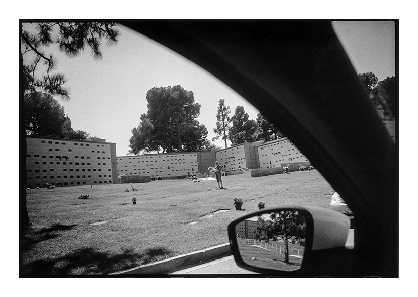 """""""Forest Lawn Cemetery, Glendale, CA, 2015"""" by Michael Hintlian (courtesy of the artist)."""