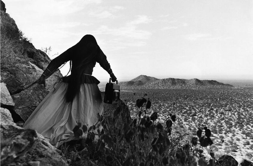 """Angel Woman, Sonoran Desert, 1979"" by Graciela Iturbide (courtesy of the artist)."