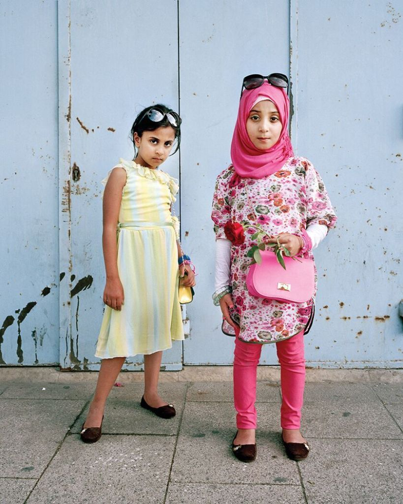 Darine, 7, Dania, 8 Beirut, Lebanon, 2014 © Rania Matar/ INSTITUTE Photos courtesy of the Artist and Joseph Carroll Gallery, Boston