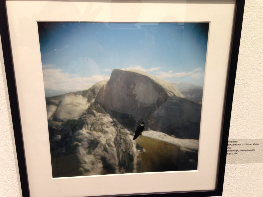 """Half Dome no. 7 – Tunnel Vision"" by Eric Bailey, made with Holga 120N (courtesy of the artist)."