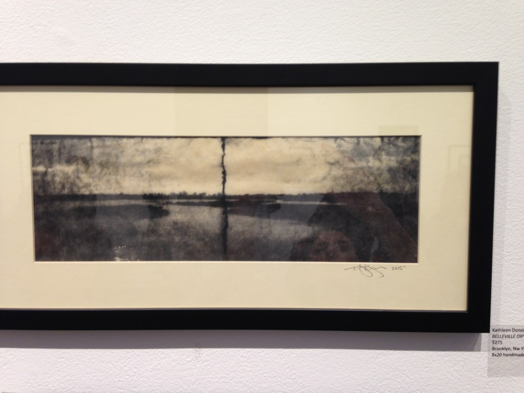 """""""BELLEVILLE DIPTYCH"""" by Kathleen Donohoe, 8x20 handmade pinhole camera (courtesy of the artist)."""