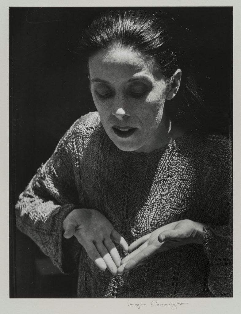 Martha Graham Imogen Cunningham (American, 1883–1976) 1931 Photograph, gelatin silver print *The Lane Collection *© The Imogen Cunningham Trust. www.imogencunningham.com. *Courtesy, Museum of Fine Arts, Boston