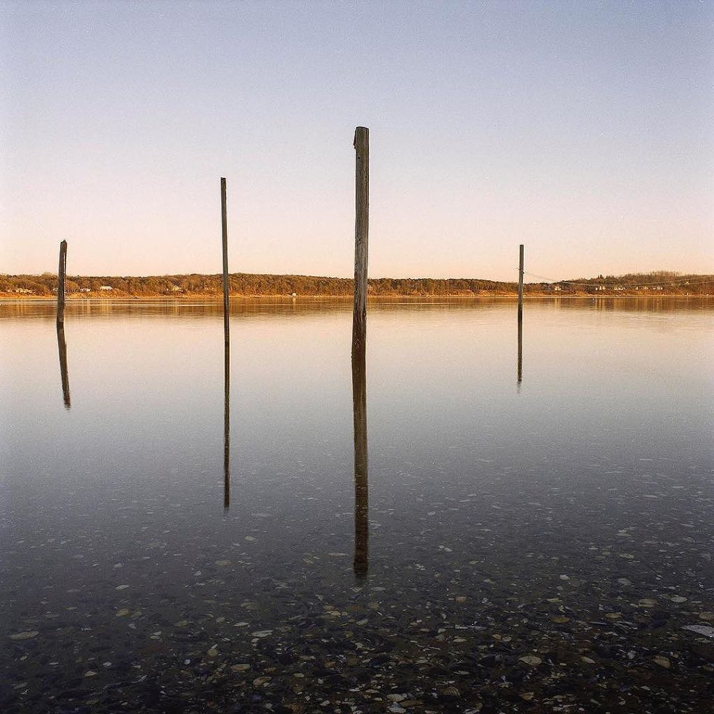 """Town Cove, Orleans, 1988"" from the series Old Cape Cod by Dan Larkin at NESOP (courtesy of the artist)."