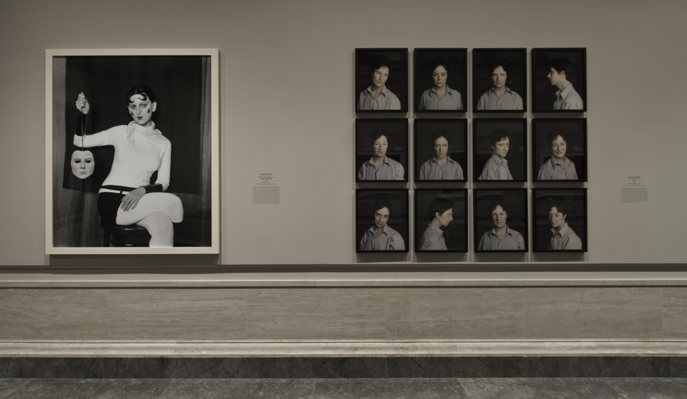 Installation view, The Serial Portrait: Photography and Identity in the Past 100 Years, National Gallery of Art, Washington (2012), courtesy National Gallery of Art