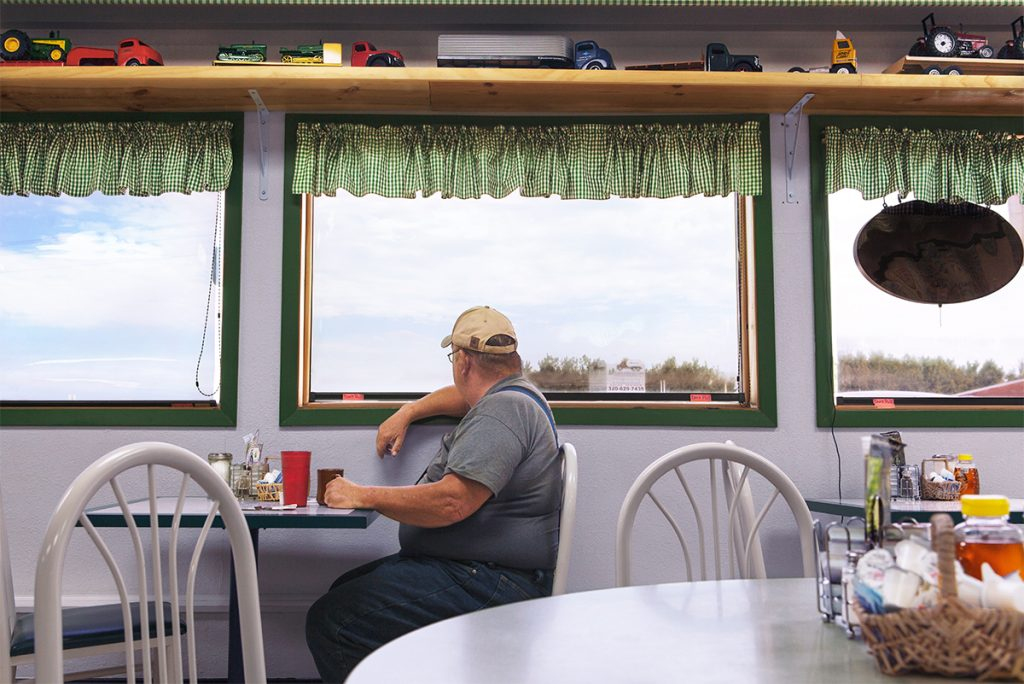 """""""Regular at Heidelberg's, Minnesota"""" from the series We Sold A Winner by Edie Bresler (courtesy of the artist and Gallery Kayafas, Boston)."""