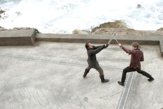 Remember when Bronn taught Jaime how to fight with his left hand?  Well, they go on an adventure together in Season Five, and that's exciting.