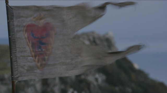 Stannis's modified sigil, as seen in season two of Game of Thrones.