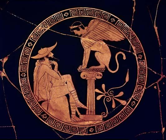 Oedipus, seeking widsom.