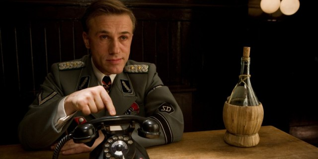 Regardless of how evil Waltz is in Spectre, it's hard to believe he can be more evil or charismatic than he was as Hans Landa.