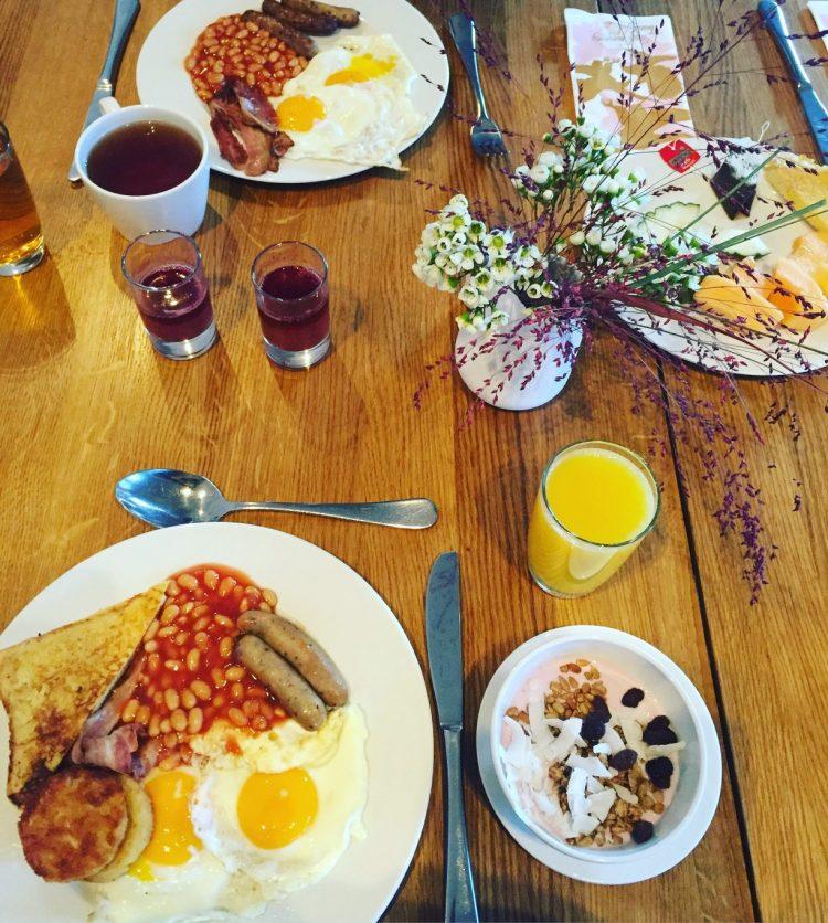 breakfast at scandic ørnen in bergen