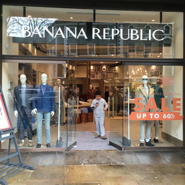 Banana Republic Kensington