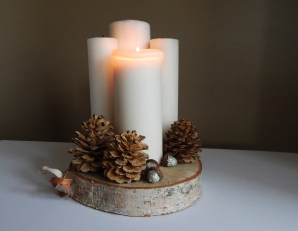 Pillar advent wreath