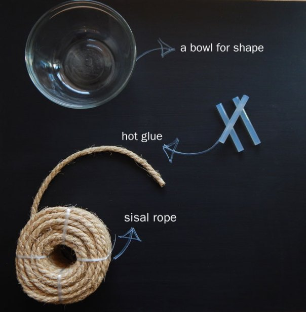 sisal bowl supplies