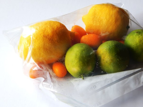 Citrus in a bag