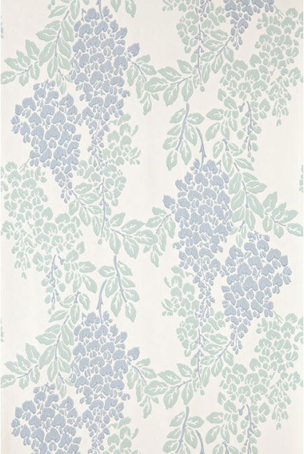 Farrow & Ball wisteria wallpaper