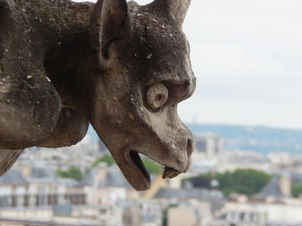 Gargoyle close up