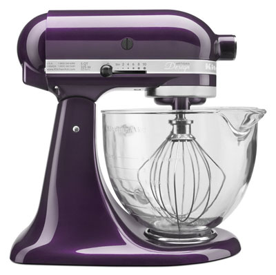 Plum kitchenaid mixer