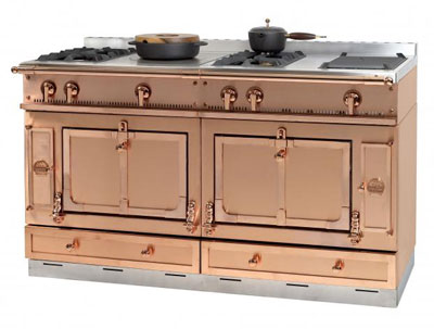 Copper la cornue stove