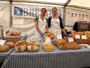 glynde food festival bread a la mer lovely ladies