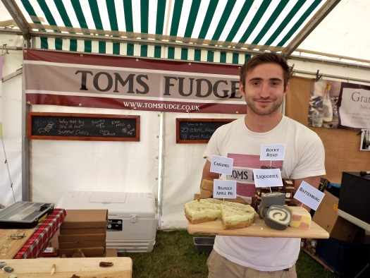 glynde food festival toms fudge